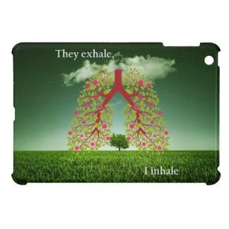 They exhale, I inhale iPad Mini Case