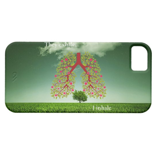 They exhale, I inhale iPhone 5 Covers