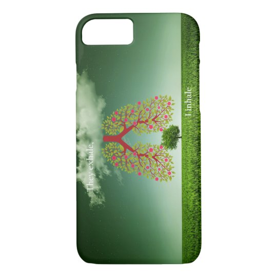 They exhale, I inhale iPhone 7 Case