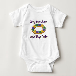 They found me in a King Cake Baby Bodysuit