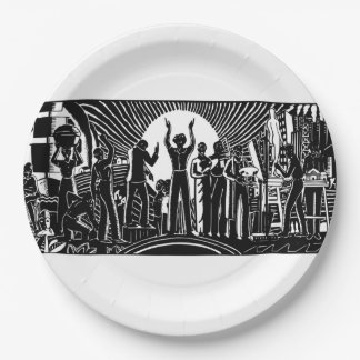 They Had A Dream BHM Party Paper Plates