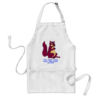 They made a song about your weight - 8675309! standard apron