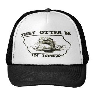 They Otter Be in Iowa Mesh Trucker Hat Cap