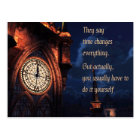 They Say Time Changes Everything Postcard