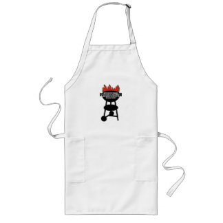 They See Me Grillin' Long Apron