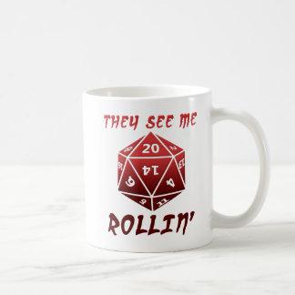 They See Me Rollin' Funny Mug