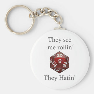 They See me rollin gear Basic Round Button Key Ring