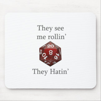 They See me rollin gear Mouse Mat