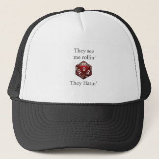 They See me rollin gear Trucker Hat