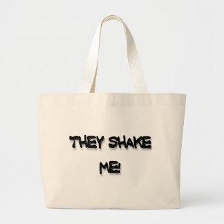 They shake me! tote bag