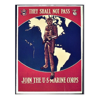 They Shall Not Pass Custom Flyer