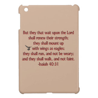 They That Wait Upon the Lord iPad Mini Case