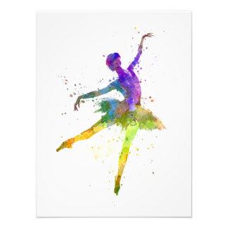 they woman ballerina ballet to dancer dancing photo print
