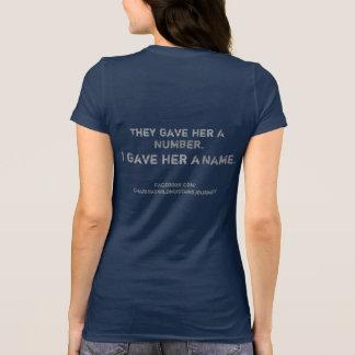 TheyGaveHerANumber,IGaveHerAName Mustang T-Shirt