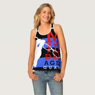 They'll see you coming in this tank top