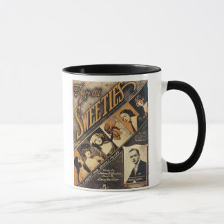 They're All Sweeties Vintage Songbook Cover Mug