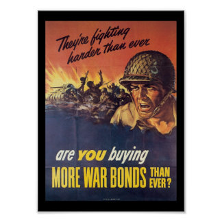 They're Fighting World War 2 Poster