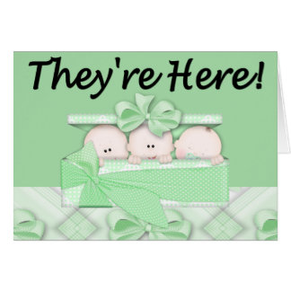They're Here! Greeting Card