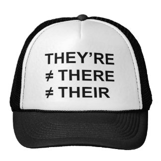 They're Not There Trucker Hat