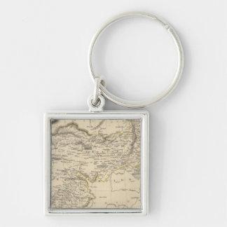 Thibet, Mongolia, and Mandchouria Key Chain