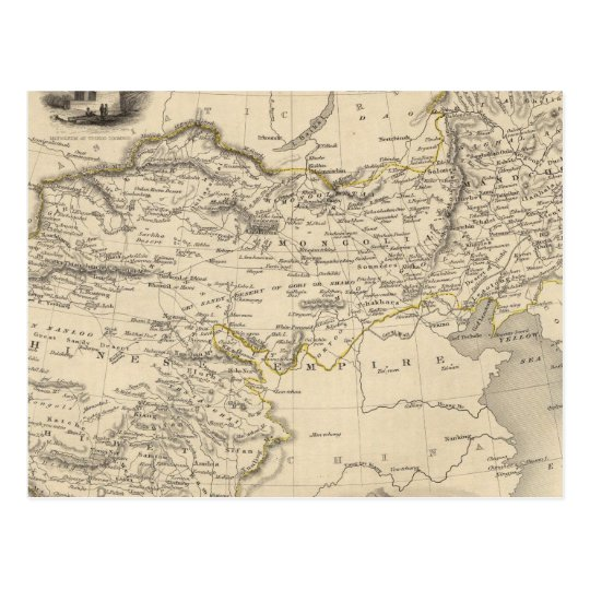 Thibet, Mongolia, and Mandchouria Postcard