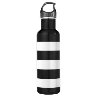 Thick Horizontal Stripes Aluminum 710 Ml Water Bottle
