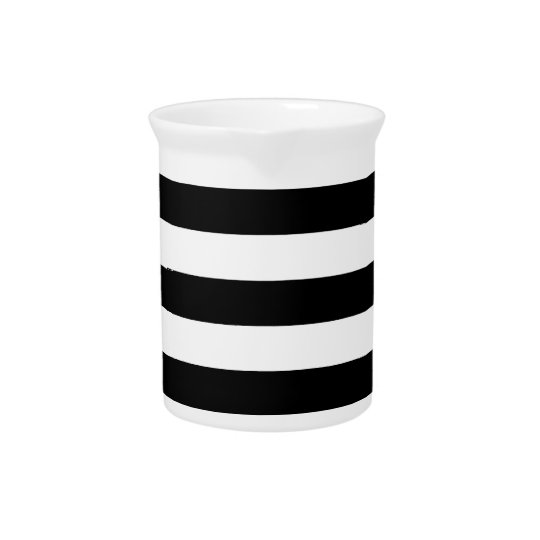 Thick Horizontal Stripes Pitcher