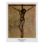 Thief On The Cross By Duccio Poster