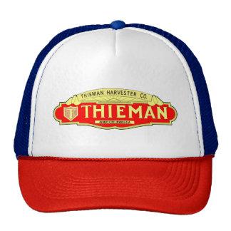 Thieman Harvester Company Tractor Farm Machine Cap