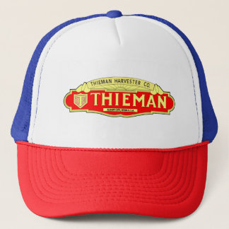 Thieman Harvester Company Tractor Farm Machine Trucker Hat