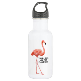 Thigh Gaps Are For Flamingos 532 Ml Water Bottle
