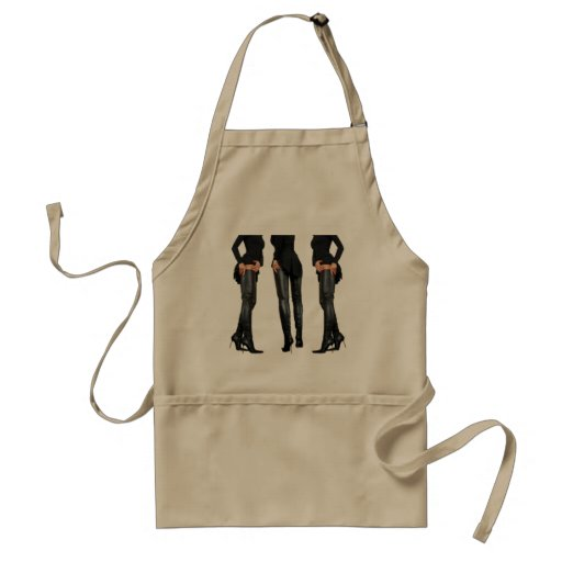 Thigh High Boot Models Aprons