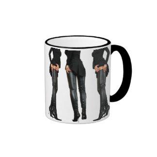 Thigh High Boot Models Coffee Mug