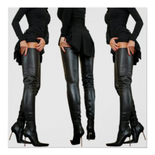 Thigh High Boot Models Posters
