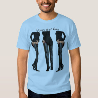 Thigh High Boot Models Shirt