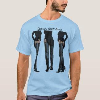 Thigh High Boot Models T-Shirt