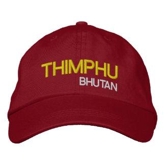 Thimphu*, Bhutan Hat Thimphu Bhutan Gewohnhe Embroidered Baseball Caps
