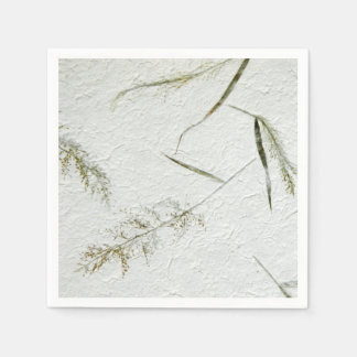 Thin blades of grass Japanese rice paper Disposable Serviette