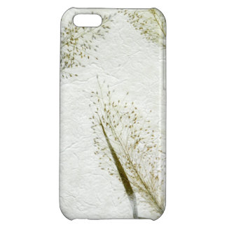 Thin blades of grass Japanese rice paper iPhone 5C Cases