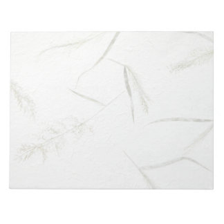 Thin blades of grass Japanese rice paper Notepad