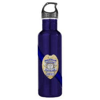 Thin Blue Line 710 Ml Water Bottle