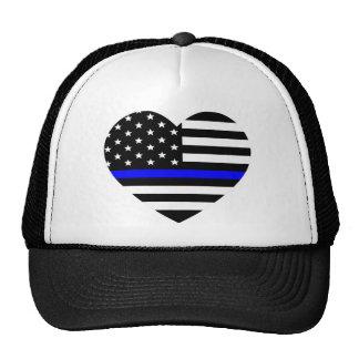 Thin Blue Line - American Flag Cap