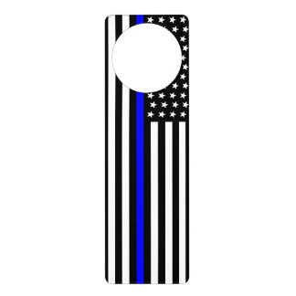 Thin Blue Line - American Flag Door Hanger