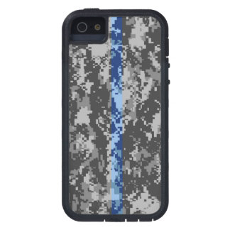 Thin Blue Line Camo iPhone 5 Case