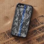 Thin Blue Line Camo iPhone 6 Case Tough Xtreme iPhone 6 Case