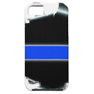 Thin Blue Line iPhone 5/5S Case