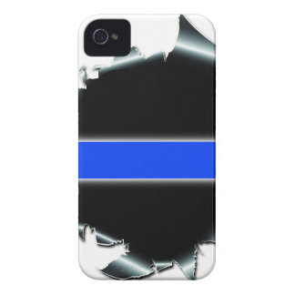 Thin Blue Line iPhone 4 Covers