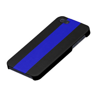Thin Blue Line Case For The iPhone 5