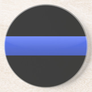 Thin Blue Line Coaster