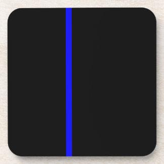 Thin blue line coasters